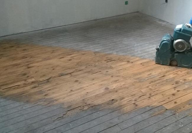 Rénovation de ma maison meulière – Semaine 4 : Ponçage du parquet