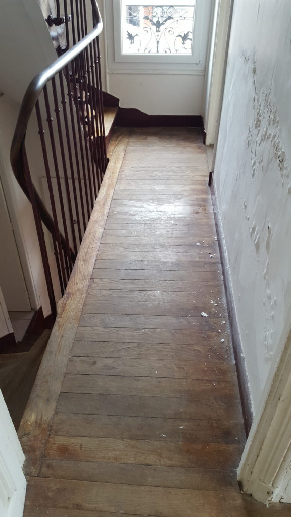 Staircase of an old house to renovate - insidemyhome.co.uk