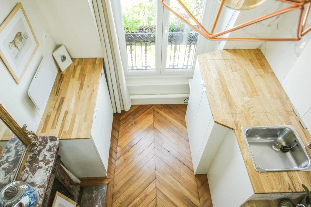A parisian maid's room full renovation - Un chambre de service totalement rénovée et aménagée de façon incroyable
