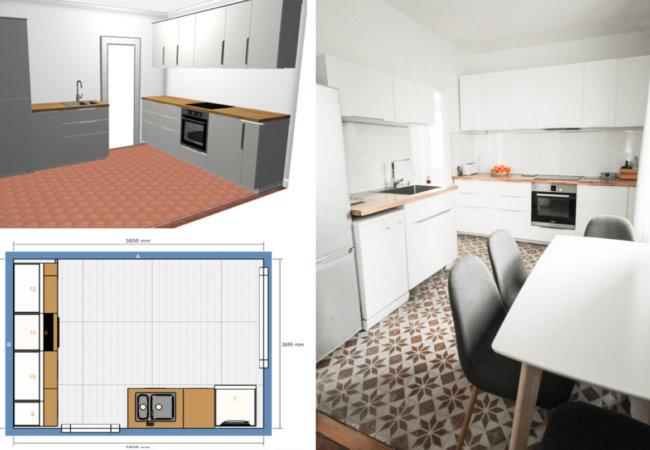 Tuto Vidéo : créer son plan de cuisine IKEA facilement avec l'outil de conception 3D !