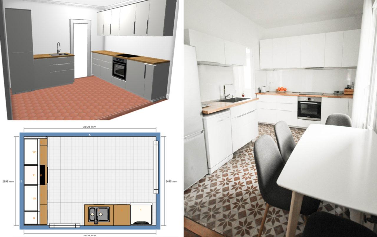 Comment créer un plan de cuisine Ikea grace à l'outil de conception 3D - facile et sans stress - pour ensuite tout se faire livrer à la maison