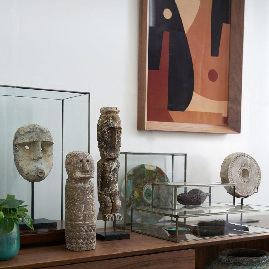 les objets de céo ethniques ou di'inspiration africaine : ue tendance phare déco de 2020