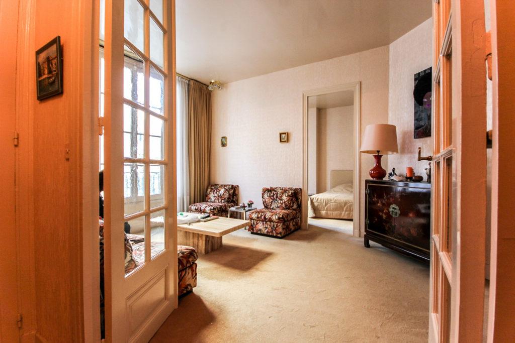 rénovation d'un appartement haussmannien : plans d'aménagement et modélisation 3d