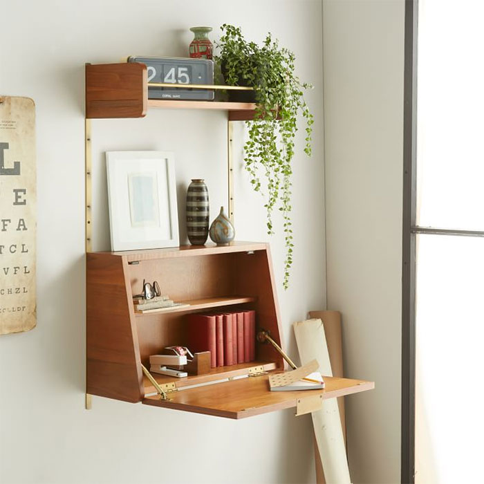 optimize your space by using modular furniture especially in studio flats