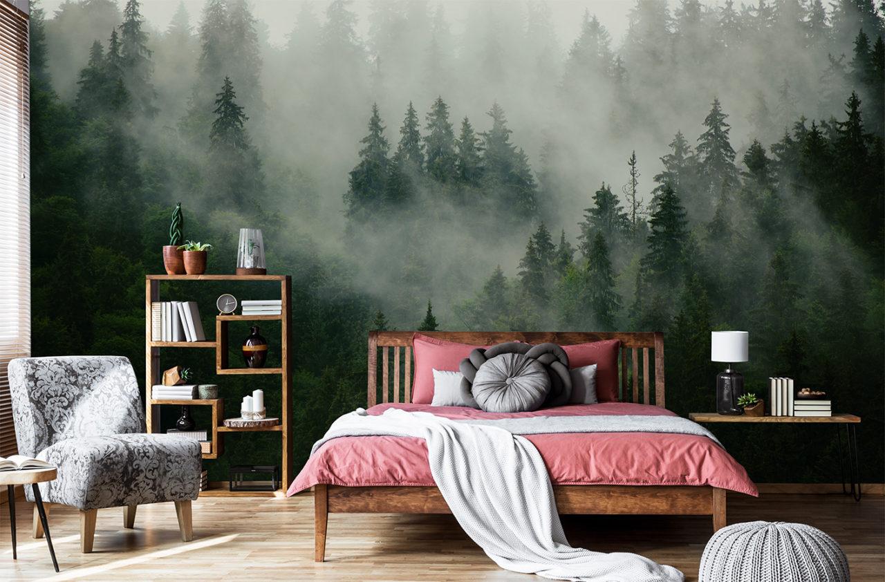 Blog Inside my Home - Comment utiliser le papier peint en décoration?