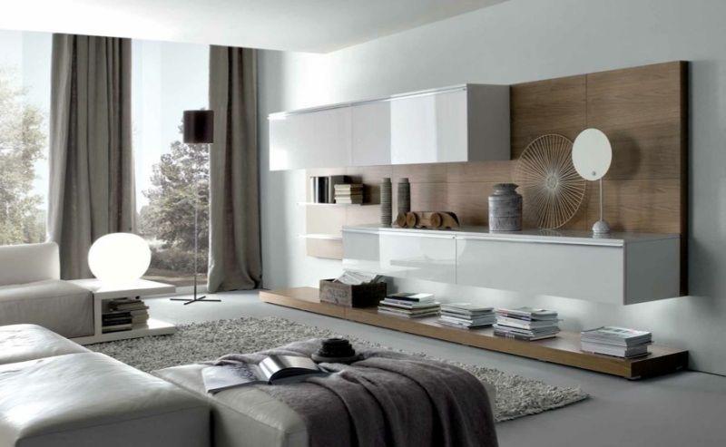 utiliser des meubles blancs brillant ou laqué apportera plus de luminosité et de lumière à une pièce ou un intérieur sombre et peu lumineux