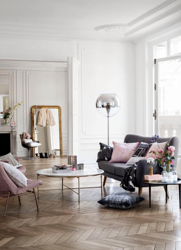 le rose nude par petites touches endécoration intérieure : ajouter des fauteuils, coussins ou objets pour ajouter une touche de douceur à votre intérieur