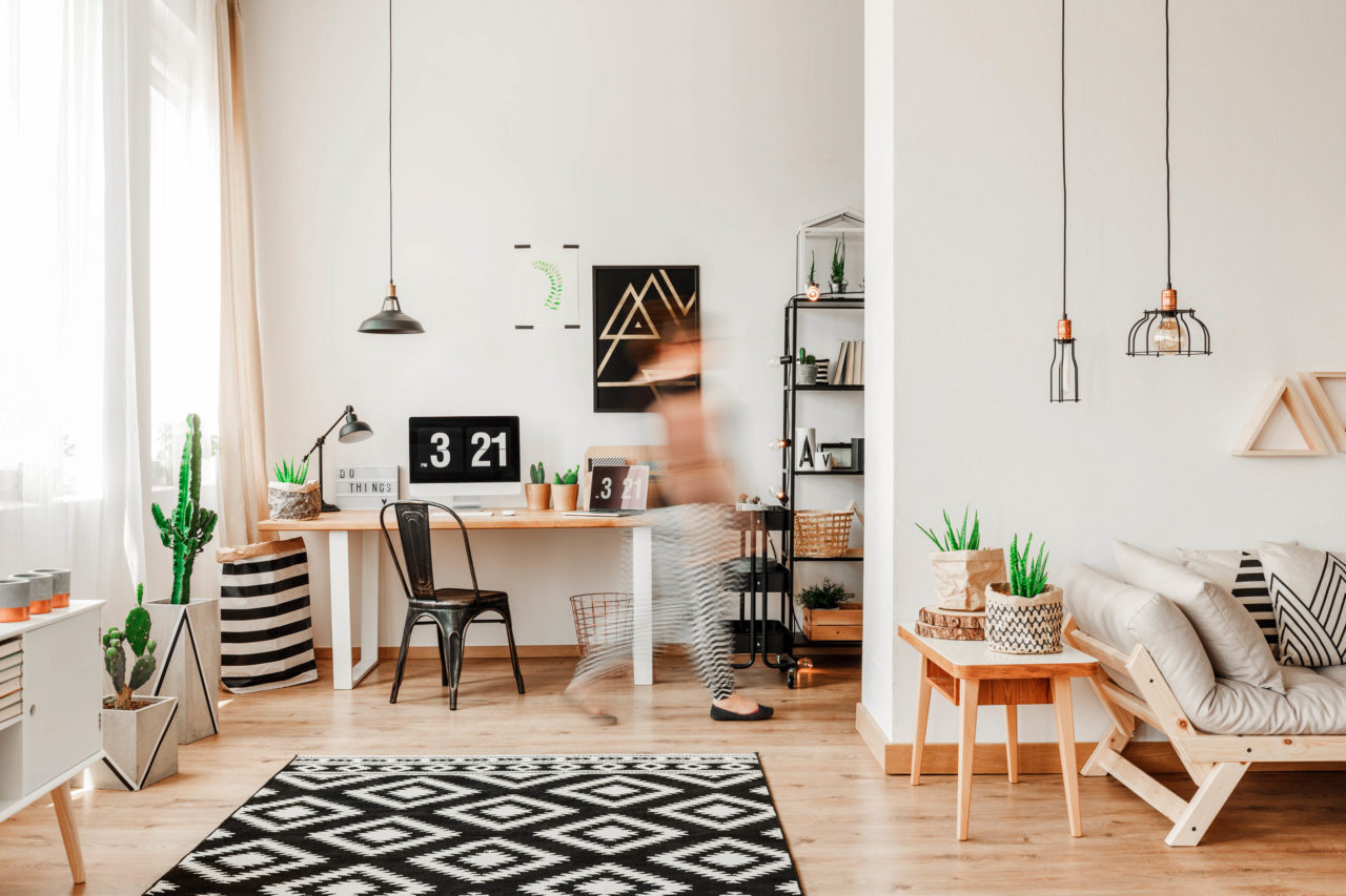 Comment aménager un bureau à la maison quand on est en télétravail ? Inside my home blog